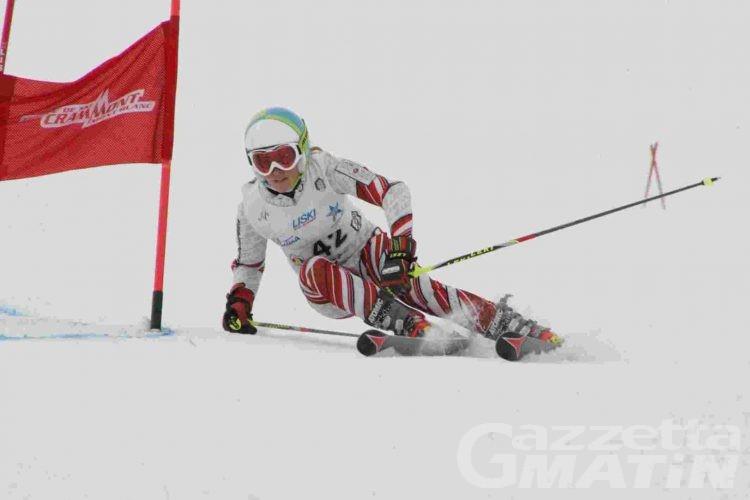 Sci alpino: Anna Damia e Guglielmo Bosca svettano a Courmayeur