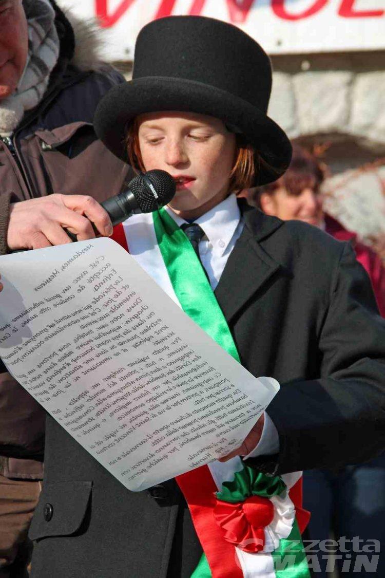 Saint-Vincent, è Giovanni Azzaroli il piccolo sindaco del carnevale