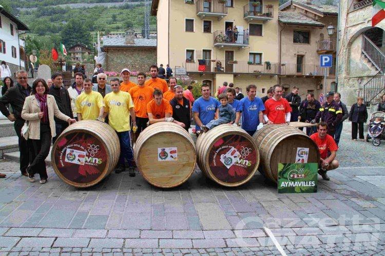 Nus correrà a Siena il Palio nazionale della corsa delle botti