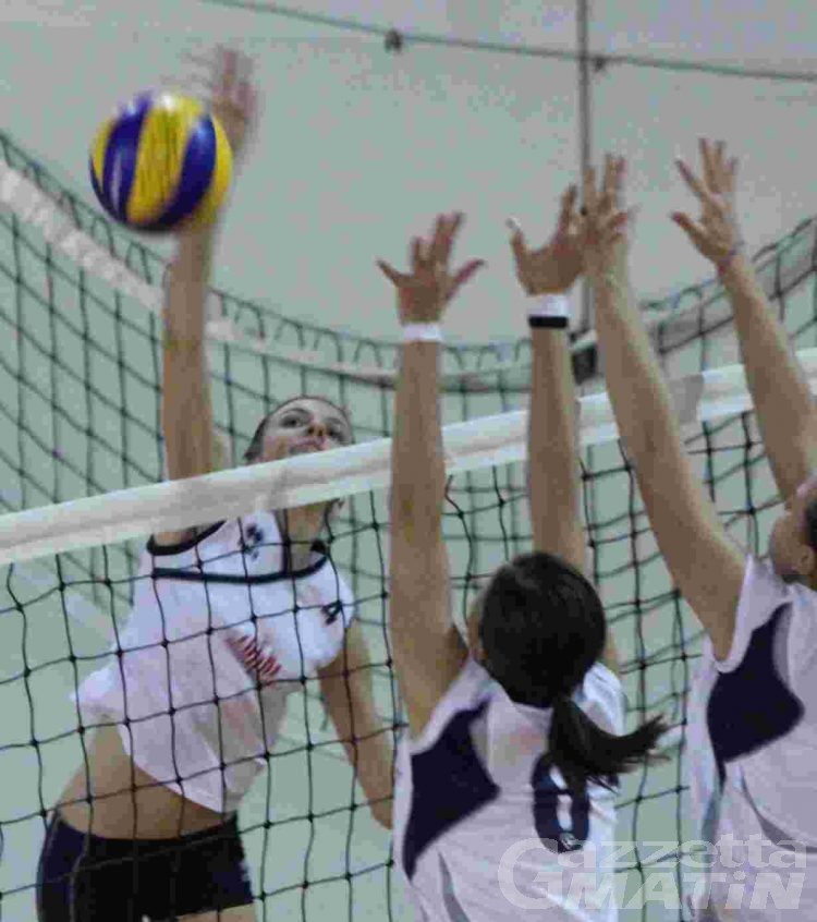 Volley: giornata amara per Bruno Tex e Cogne