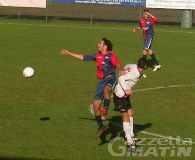 Calcio: primo stop dell'Aygreville, quinta gemma dello Charva