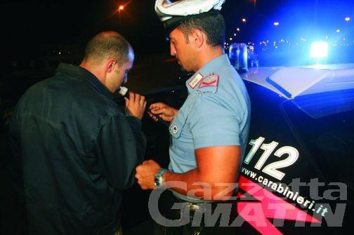 Serata da sballo per un 33enne rumeno, fermato a Verrès per guida in stato di ebbrezza