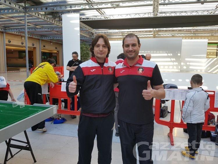 Calcio tavolo: Heinz Sommerfeldt vince a Torino