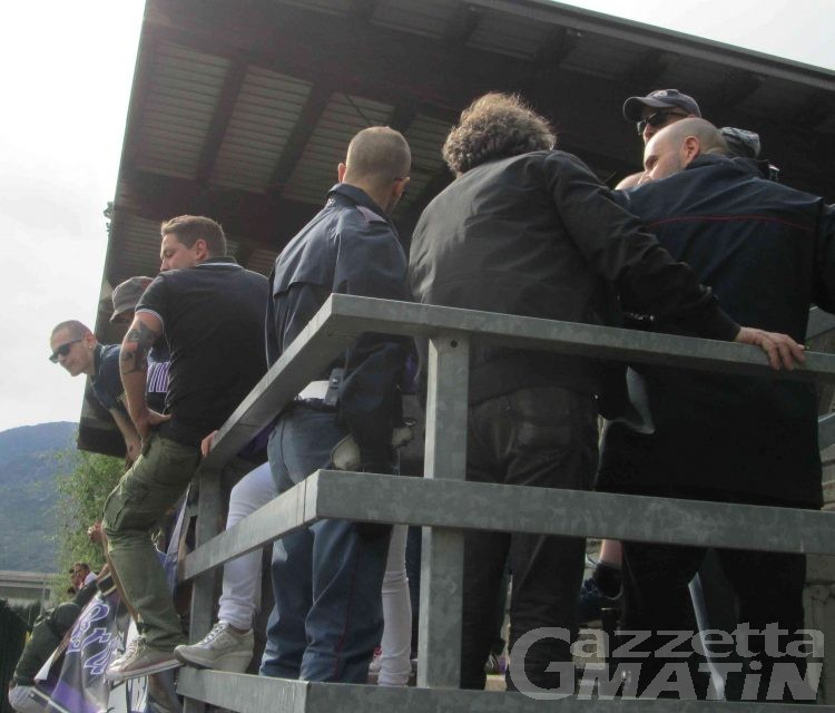 Calcio: le intemperanze dei tifosi costano care al Settimo