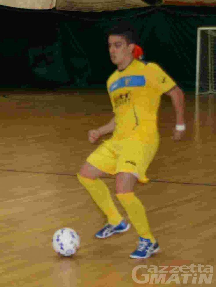 Calcio a 5: l'Aosta domina 6-2 il Civitanova