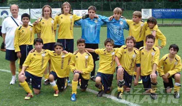 Calcio giovanile: il derby al Courma, pari dell'Aygreville