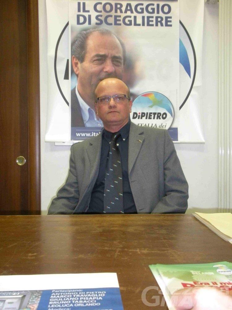 IdV, Belardi: «Aperti ad alleanze che escludano Monti»