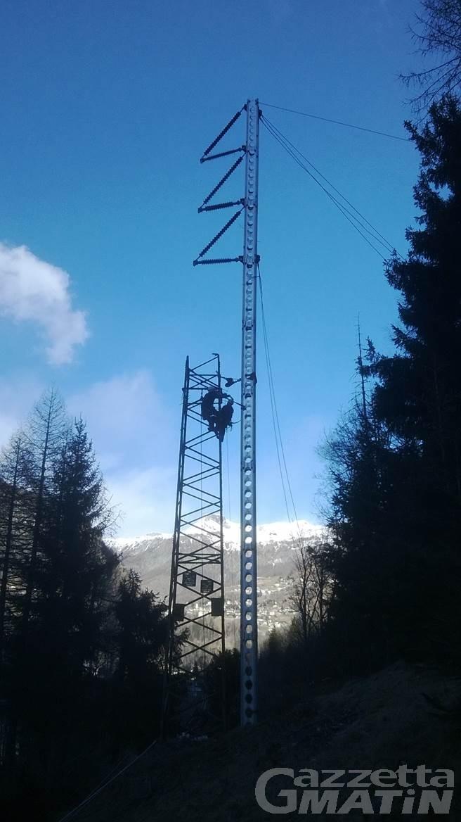 Sistema elettrico: due giorni di lavoro straordinario per i danni provocati dal vento