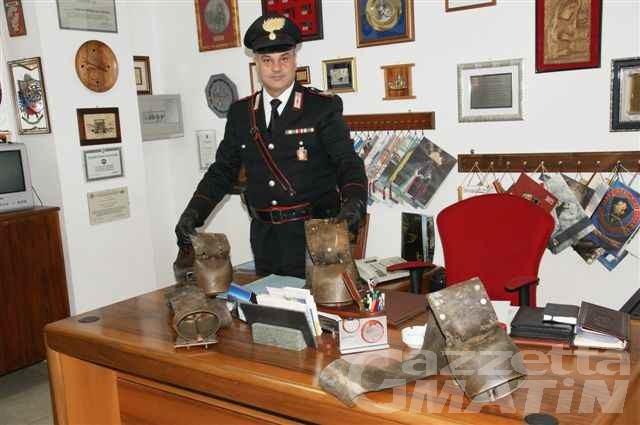Ritrovati i campanacci rubati un mese fa ad Antey