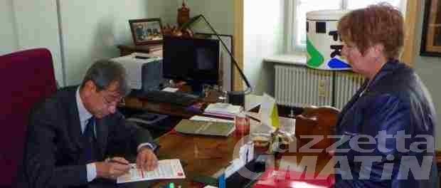 Aosta: il comune ha sottoscritto la Carta dei diritti delle persone con sclerosi multipla