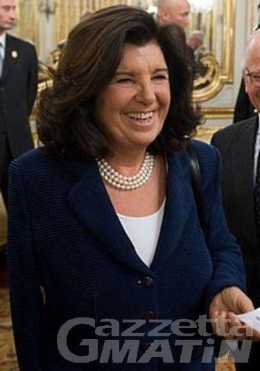 Il Ministro Paola Severino a Courmayeur