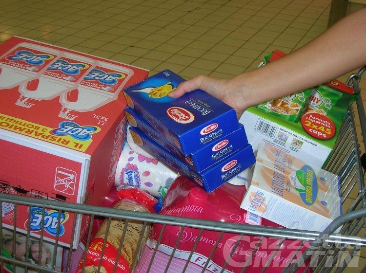 La spesa alimentare costerà 600 euro in più