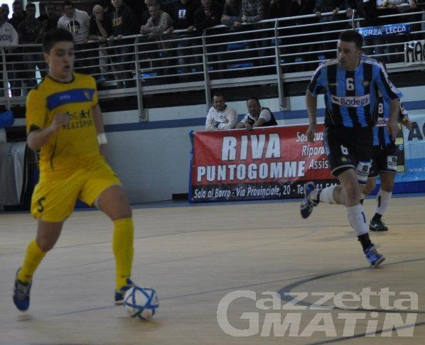 Calcio a 5: Barcellos fa urlare di gioia l'Aosta