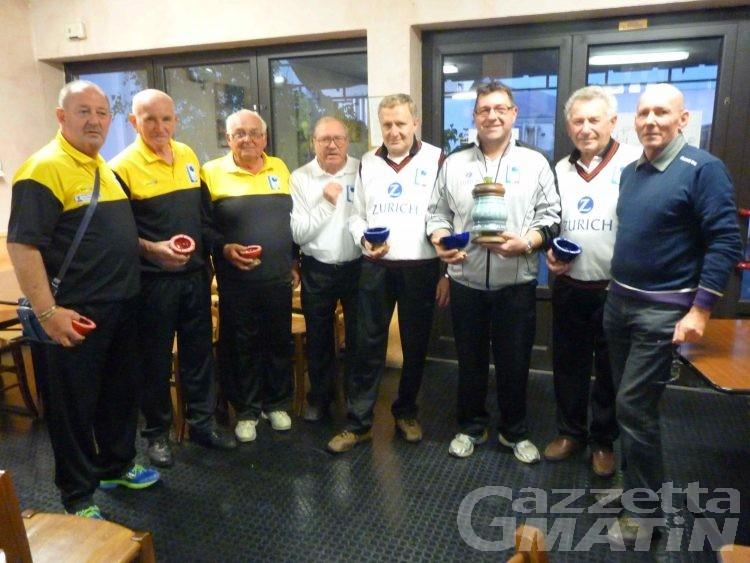 Bocce: l'Aostana vince la Coppa CRER