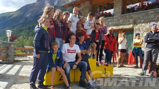 Biathlon estivo: il GS Godioz sbanca Bionaz