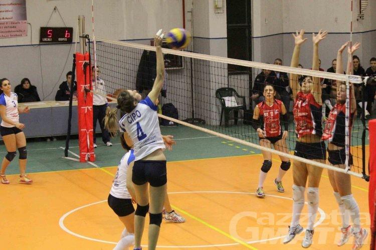 Volley: colpo esterno della Cogne Acciai Speciali