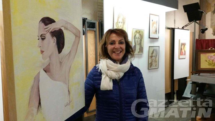 Arte: i quadri di Cati e della figlia Lucia