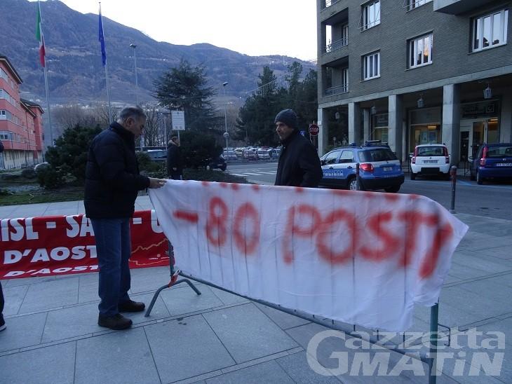 Sindacati: presidio davanti a Palazzo regionale contro tagli bilancio