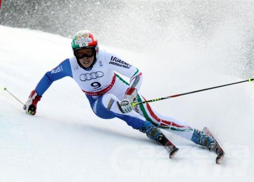 Sci alpino: Federica Brignone seconda a Kranjska Gora