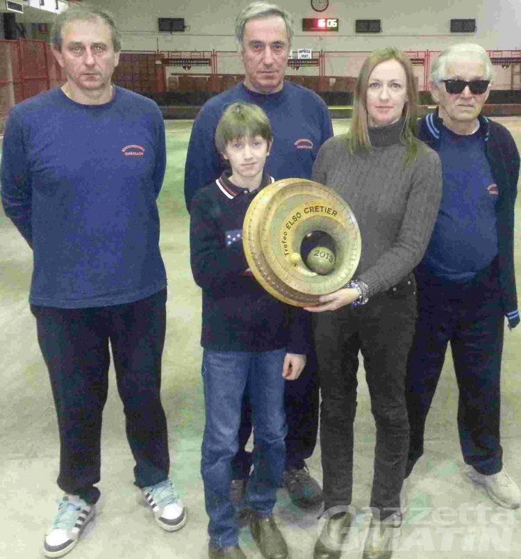 Bocce: il Trofeo Artigiani e Commercianti al Bar Bocciofila Châtillon