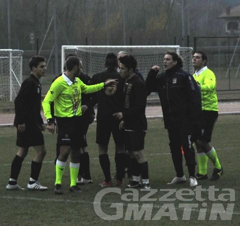 Calcio: pari Aygre, crollo Charva, il derby al Pont