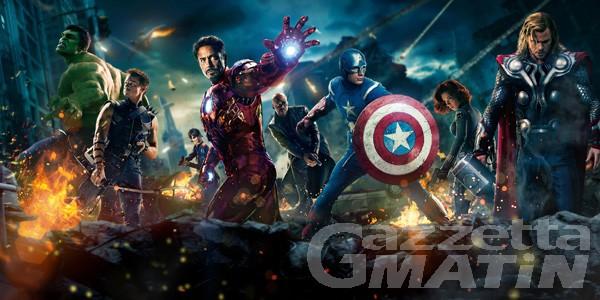 The Avengers, proiezione speciale martedì 21 al Palais