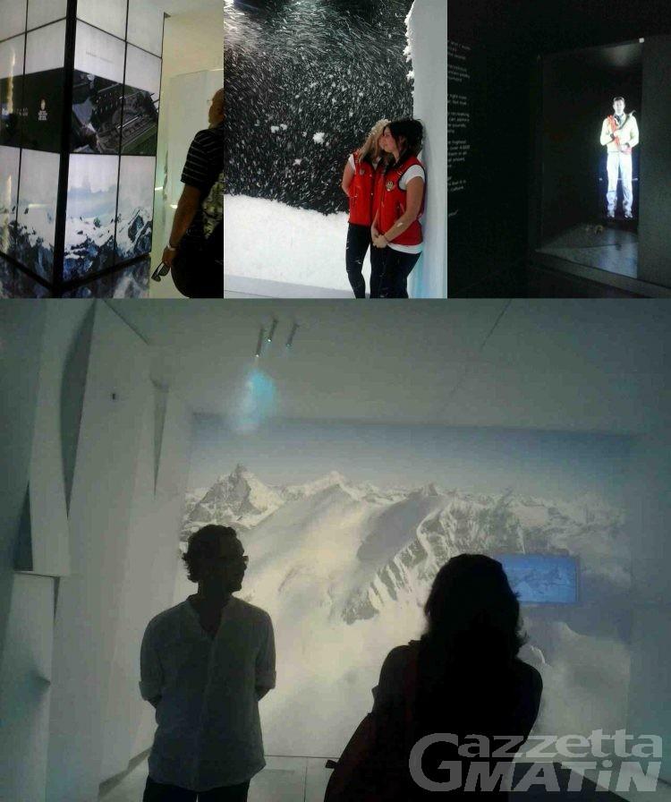 Expo 2015: bianco ed effetti speciali per l'installazione che presenta la Valle d'Aosta