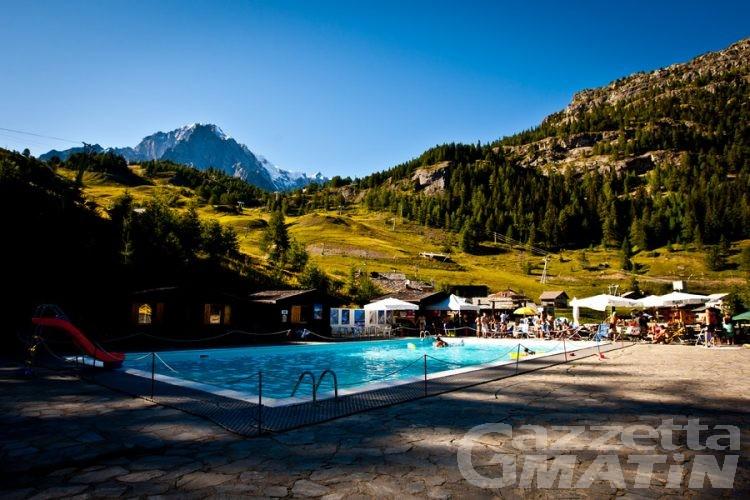 Turismo: apre piscina più alta d'Europa a Plan Chécrouit di Courmayeur