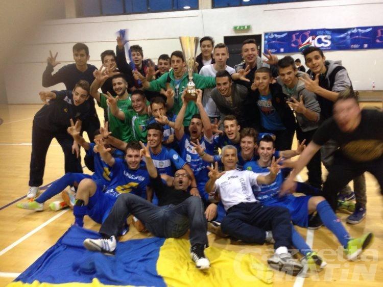 Calcio a 5: l'Aosta 511 si prende anche il titolo regionale Juniores