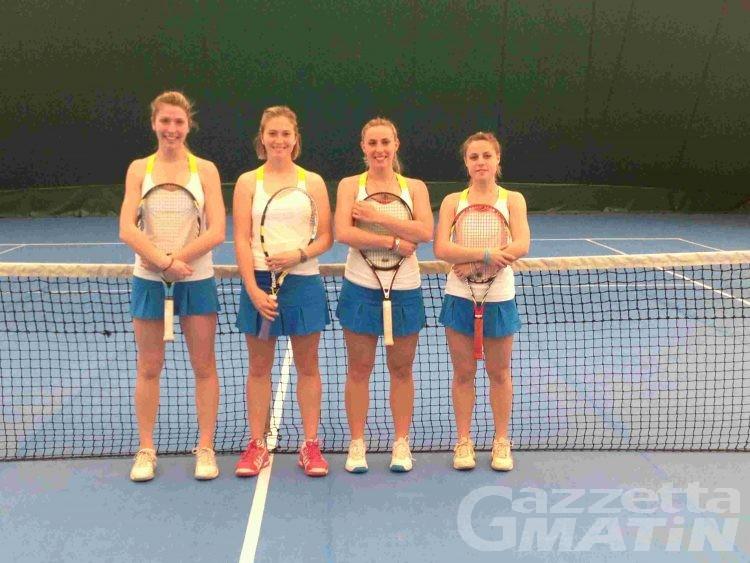 Tennis: in D3 maschile eliminato lo Châtillon St-Vincent