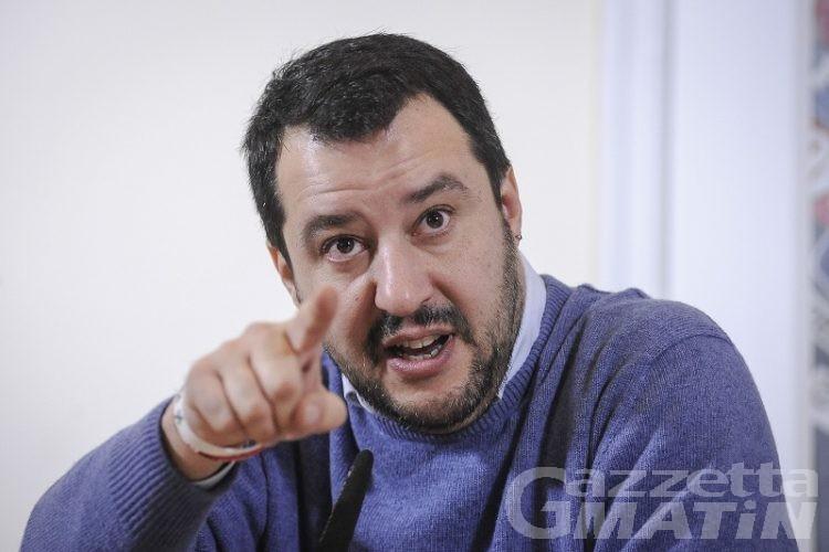 Sicurezza, Salvini: in arrivo forze dell'ordine per l'estate in Valle d'Aosta