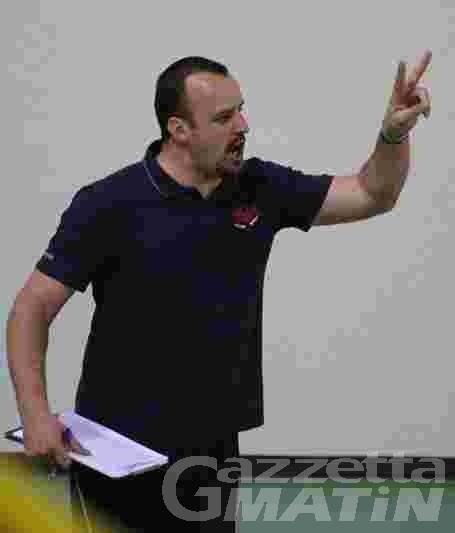 Volley: Bajo nuovo allenatore della Cogne A.S.