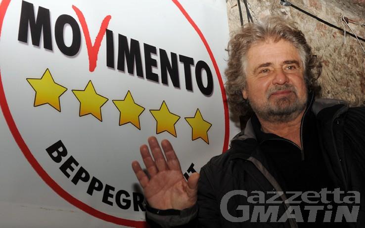 Pirogas, venerdì 16 Beppe Grillo ad Aosta per il Comitato del sì