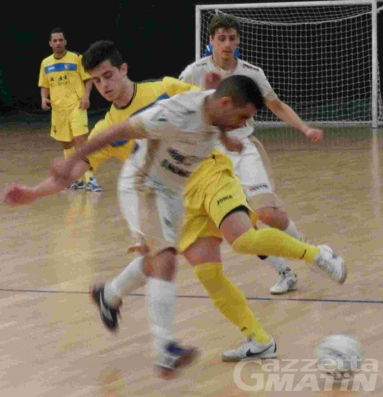 Calcio a 5: l'Aosta fuori dalla final eight della Coppa U21