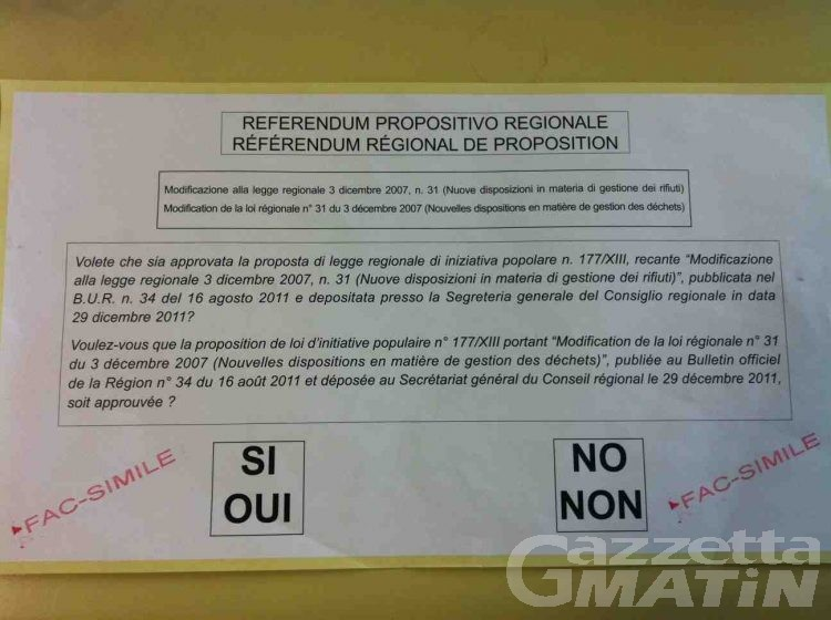 Referendum, domani si vota