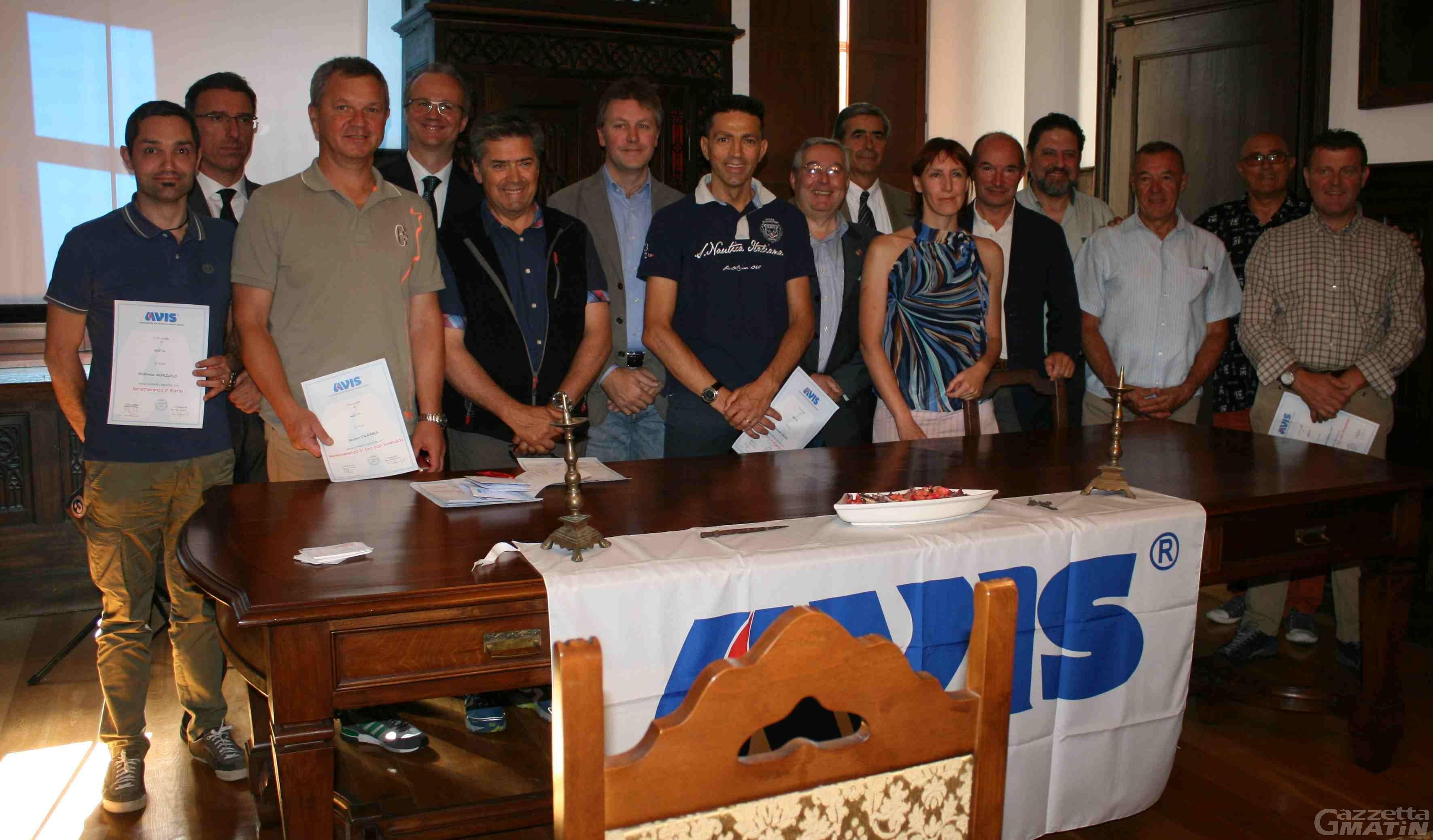Donazione: l'Avis di Aosta supera i mille donatori attivi