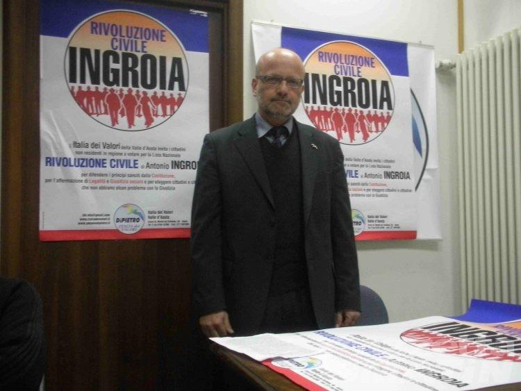 L'Idv appoggia l'accoppiata Morelli-Guichardaz