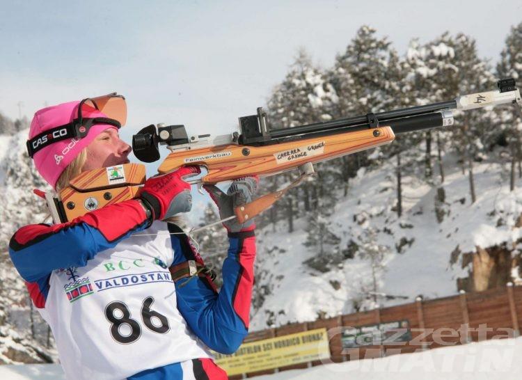 Biathlon: trenta valdostani a caccia del titolo tricolore