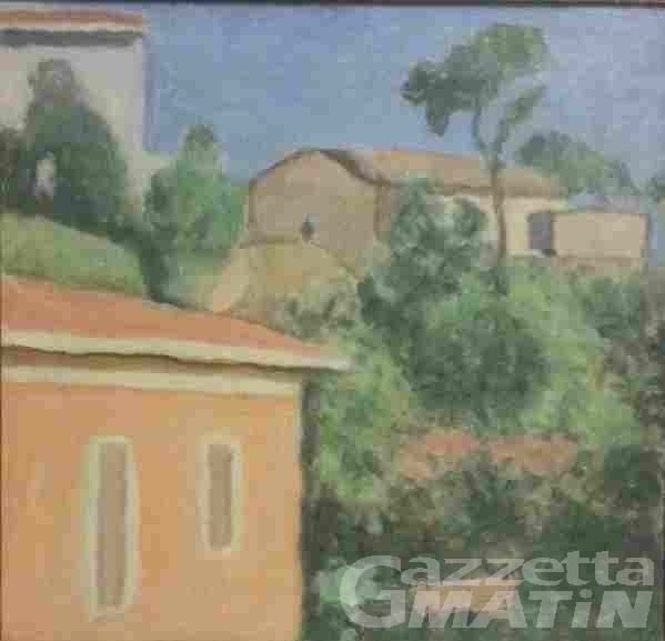 Furti d'arte: recuperato a Courmayeur un quadro del Maestro Morandi rubato 40 anni fa, del valore di 350 mila euro