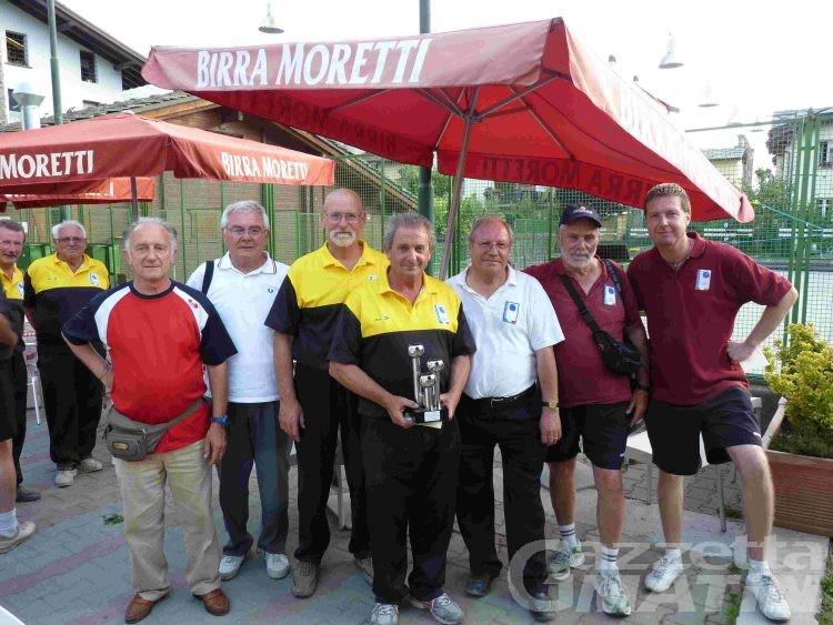 Bocce: Baldon-Pavan si prendono la Coppa S.Orso