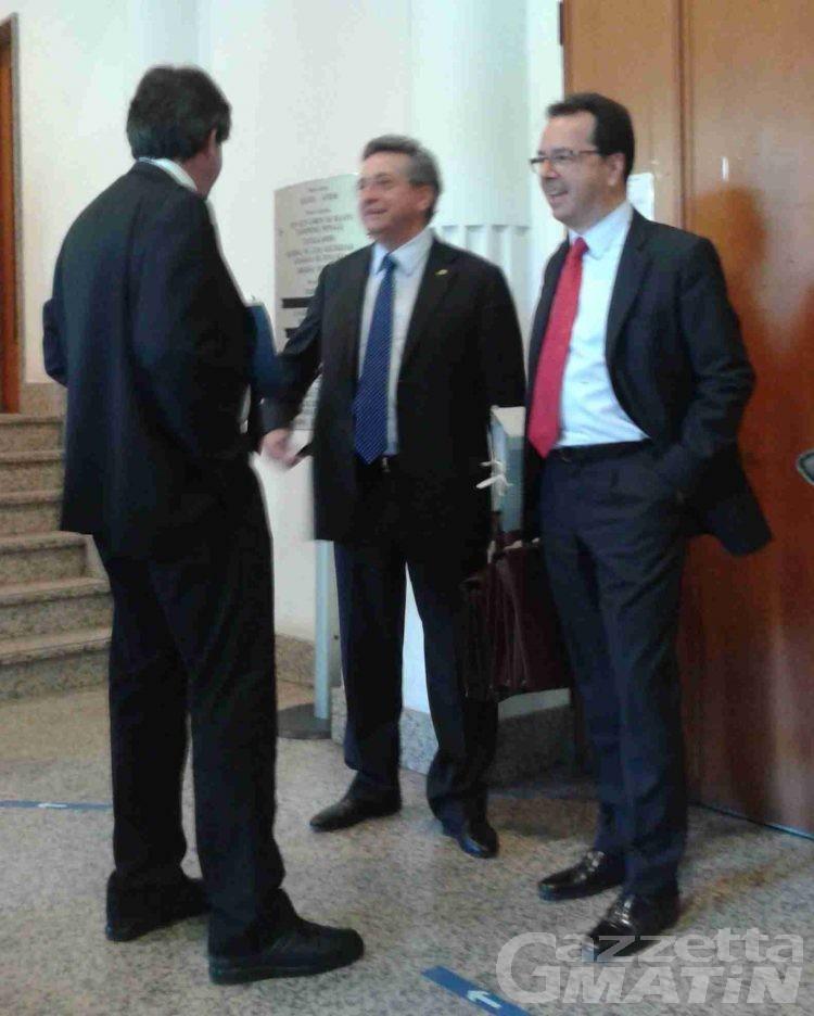 Inchiesta costi della politica: il presidente del Consiglio regionale, Marco Vierin, davanti al giudice