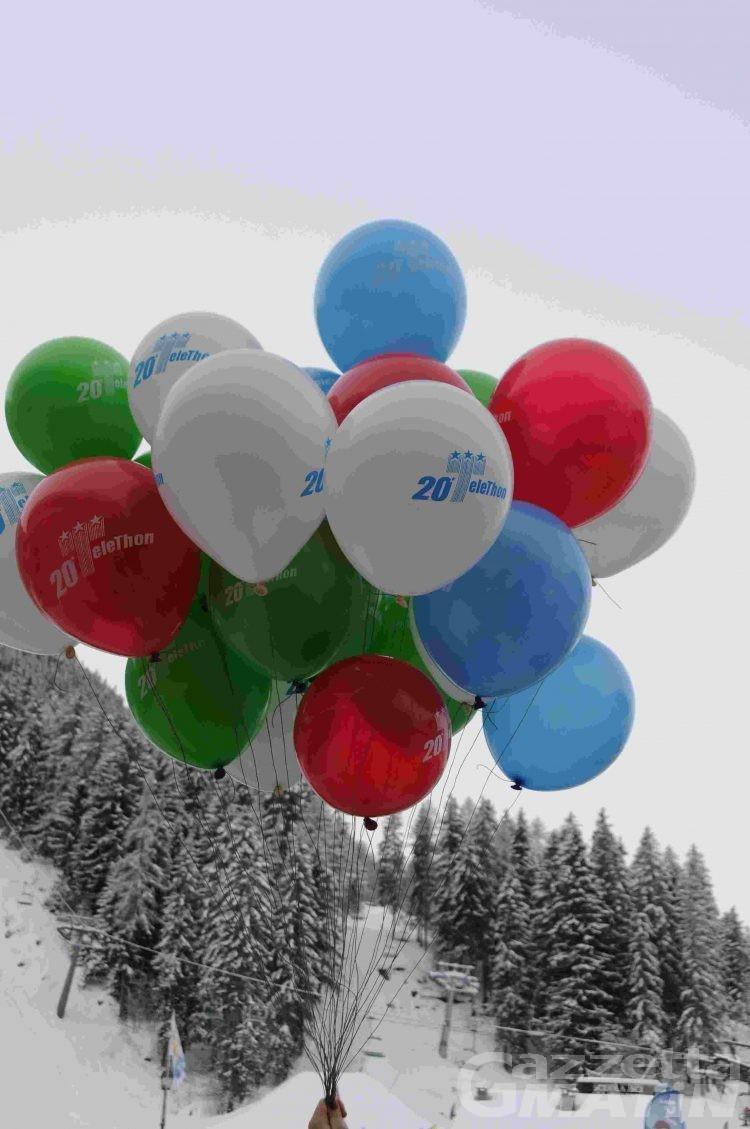 Lo sci per Telethon: a La Thuile raccolti 12 mila euro