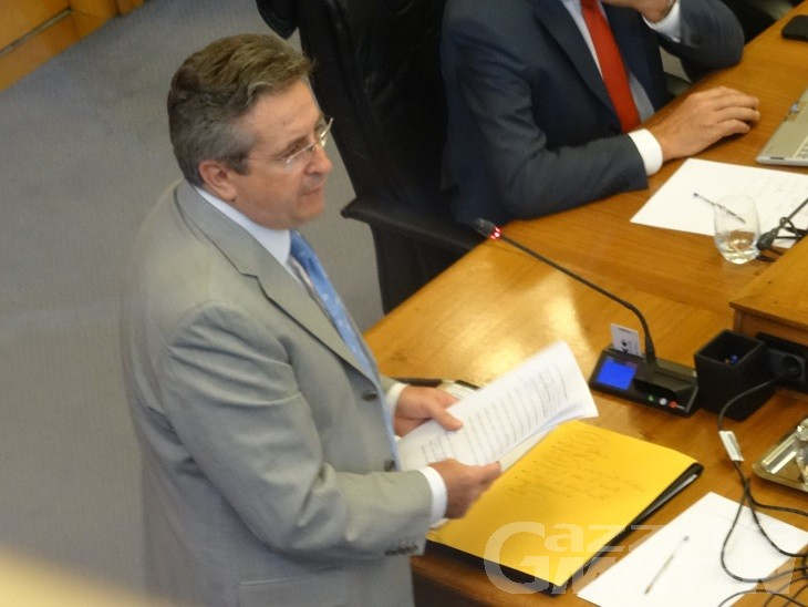 Consiglio Valle: Marco Viérin presidente con i 21 voti della nuova maggioranza