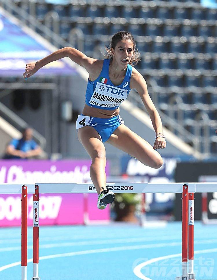 Atletica: Eleonora Marchiando in semifinale ai Mondiali Junior