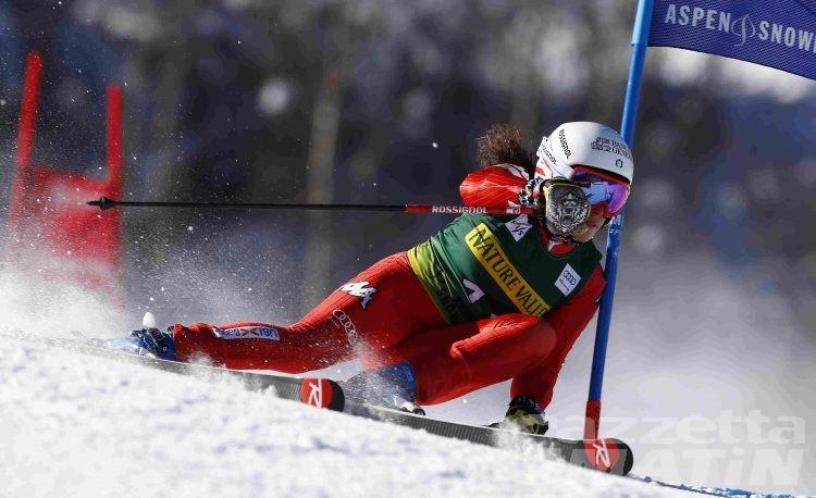 Sci alpino: Federica Brignone terza nel gigante di Aspen