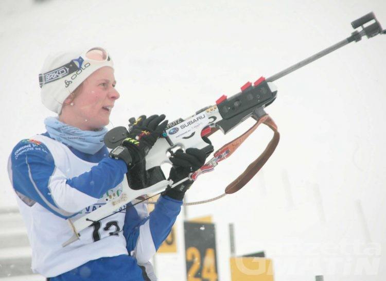 Biathlon: a Giulia Collavo il tricolore Jr sprint