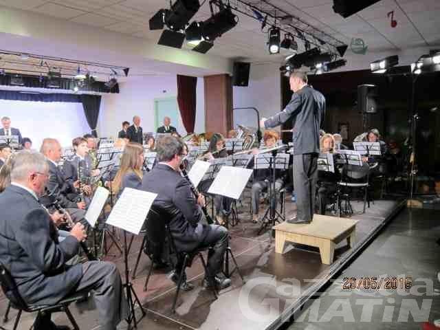 Contributi regionali: oltre 130 mila euro alle Bande musicali della Valle d'Aosta