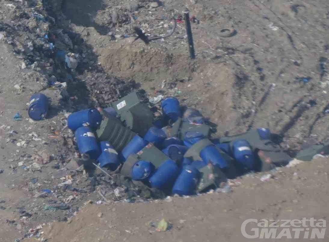 Ambiente, Valle Virtuosa denuncia: «rifiuti vietati in discarica»; replica Valeco: «solo rifiuti ingombranti»