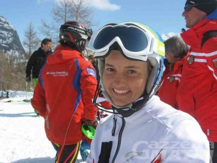 Sci alpino: Martina Perruchon nona a Diavolezza