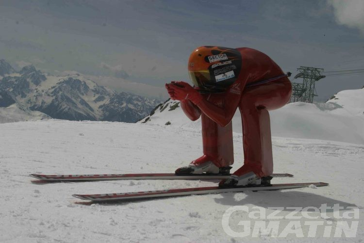 Sci di velocità: paura per Simone Origone che cade a 140 km/h